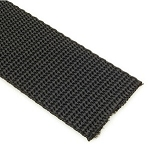 1.1 mm Nylon Webbing - Black